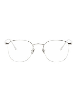 Silver C479 Glasses by Linda Farrow Luxe
