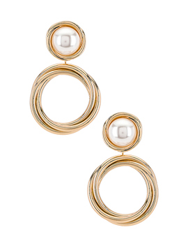 Jay Earrings In Gold by 8 Other Reasons