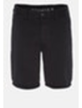 Black Darwin Chino Stretch Short by Connor