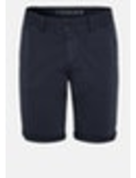 Navy Darwin Chino Stretch Short by Connor