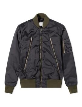 Maison Margiela 10 Front Bomber Jacket by Maison Margiela
