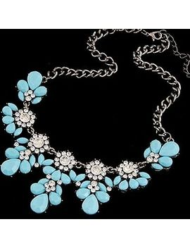 <Span><Span>Fashion Charm Crystal Statement Necklace Jewel Rhinestone Gems Collar Bib Uk</Span></Span> by Ebay Seller