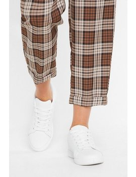 Running Out Of Time Lace Up Sneakers by Nasty Gal