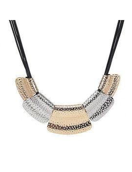 <Span><Span>Fashion Chunky Statement Charm Pendant Chain Crystal Jewelry Choker Bib Necklace</Span></Span> by Ebay Seller