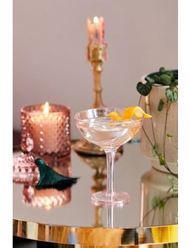 Champagne Coupe Glass by Urban Outfitters