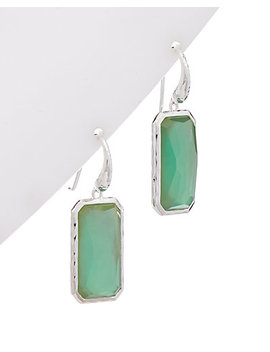 Ippolita Rock Candy Silver 25.00 Ct. Tw. Gemstone Drop Earrings by Ippolita