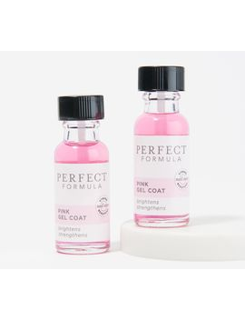 Perfect Formula Pink Gel Coat Duo by Perfect Formula Includes: