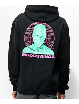 Moodswings Rated M Black Hoodie by Moodswings