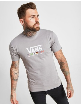 Vans Flag T Shirt by Jd Sports
