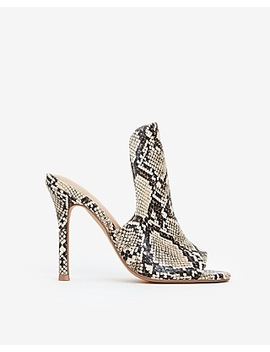 Peep Toe High Heeled Sandals by Express