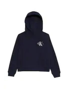 Small Monogram Boxy Hoodie   Hoodie by Calvin Klein Jeans