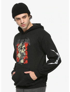 Metallica Fractured Skull Hoodie by Hot Topic