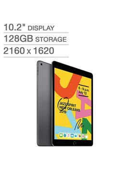 Apple Care+ Available     7th Gen Apple I Pad A10 Fusion Chip 128 Gb   Space Gray by Costco
