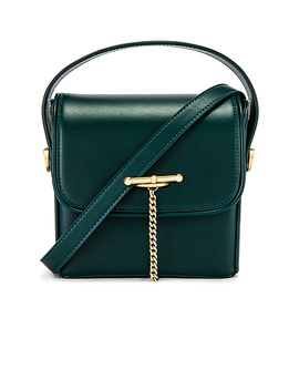 The Maeve Mini Bag In Hunter Green by Sancia