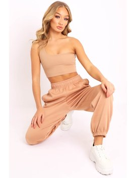 Camel Oversized Joggers   Erica by Rebellious Fashion