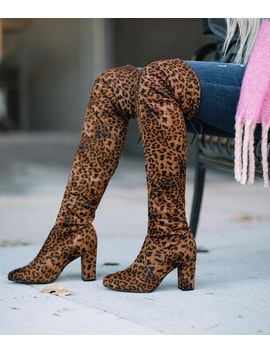 My Delicious Shoes Snivy Over The Knee Boot by Buckle