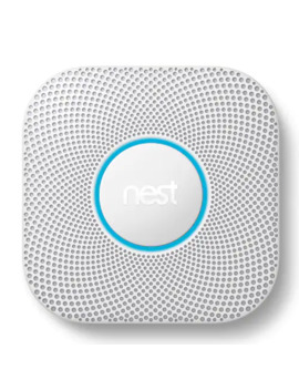 Google Nest Protect Wired Smoke & Carbon Monoxide Alarm (2nd Generation) by Google