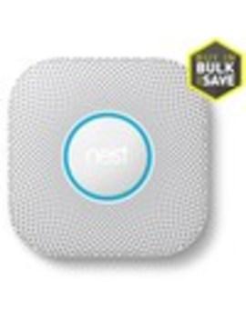Google Nest Ac Hardwired 2 Volt Photoelectric Sensor Smoke Detector by Lowe's
