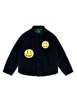 New Ins Smile Woollen Jacket Cpfm.Xyz Kanye Unisex Tops Coat Hot by Ebay Seller