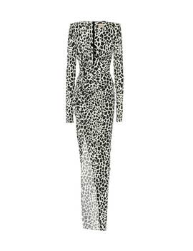 Exclusive To Mytheresa – Animal Print Stretch Jersey Gown by Alexandre Vauthier