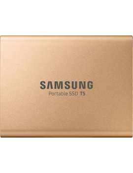 T5 500 Gb External Usb Type C Portable Solid State Drive   Rose Gold by Samsung