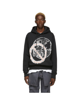 Ssense Exclusive Black Flag Hoodie by Who Decides War By Mrdr Brvdo