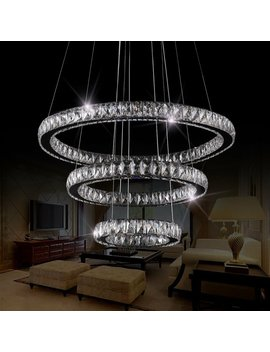 White Hansen 3 Light Led Unique / Statement Tiered Chandelier by House Of Hampton