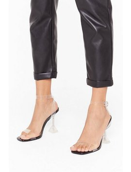 Faux Leather Louis Perspex Lets Be Clear by Nasty Gal