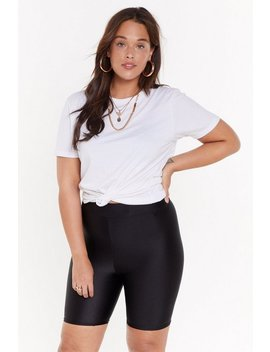 Let's Party Bodycon Biker Shorts by Nasty Gal