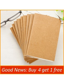 Handmade Genuine Leather Notebook Refill Inserts Replace Inner Core Sketchbook Planners 4 Size Travel Diary Journals by Ali Express.Com