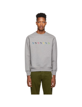 Grey Regular Fit Sweatshirt by Ps By Paul Smith