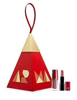 Nude Lip Duo Ornament Set by Giorgio Armani