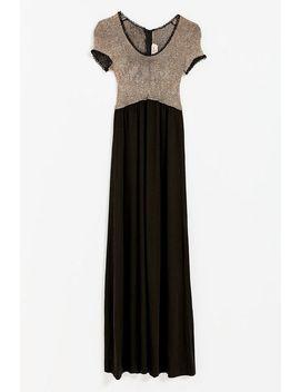 Vintage Empire Waist Shimmer Dress by Urban Renewal