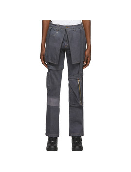 Ssense Exclusive Grey Kargo Pants by Who Decides War By Mrdr Brvdo