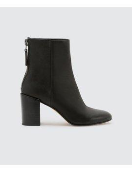 Cyan Booties In Blackcyan Booties In Black by Dolce Vita