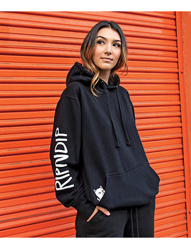 Ripndip Lord Nermal Black &Amp; White Hoodie by Ripndip