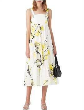 Mimosa Bandeau Midi Dress by Aje