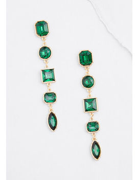 Jewel Stole My Heart Drop Earrings by Modcloth