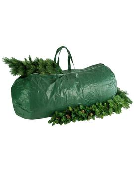 Green Heavy Duty Tree Storage Bag With Handles And Zipper   Fits Up To 9 Ft., 29 In. X 56 In. by National Tree Company