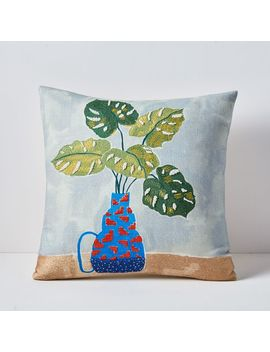 Tropical Arrangement Pillow Cover by West Elm