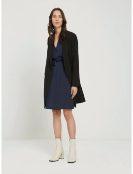 Popover Shirtdress In Navy by Frank & Oak