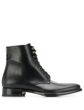 Lace Up Ankle Boots by Scarosso