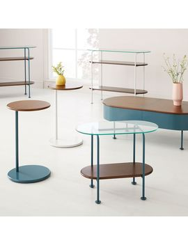 Ruby Console   Petrol Blue by West Elm