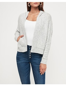 Thermal Hooded Cardigan by Express