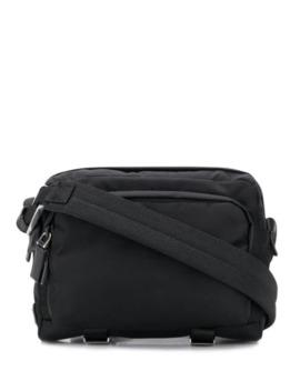 Logo Patch Crossbody Bag by Prada