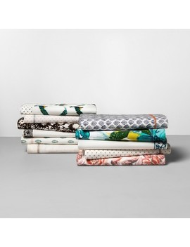 Printed Cotton Percale Sheet Set   Opalhouse™ by Shop Collections