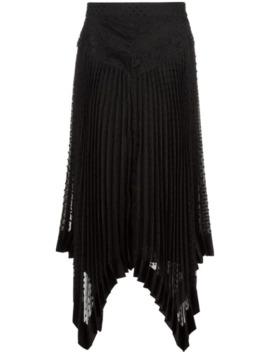 Handkerchief Hem Midi Skirt by Zimmermann