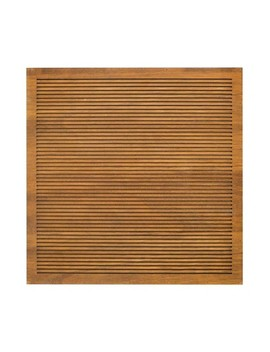 """14.4""""X 14.4"""" Wood Letter Board Brown   Threshold™ by Threshold"""
