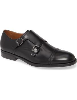Barone Double Monk Strap Shoe by Bruno Magli