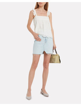 Eyelet Moon Cotton Cami by St. Roche